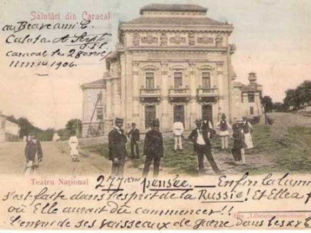 CARACAL - TEATRUL NATIONAL DIN - 1906