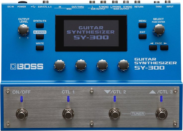 Boss SY300 Multi-Effects Guitar Effect Pedal