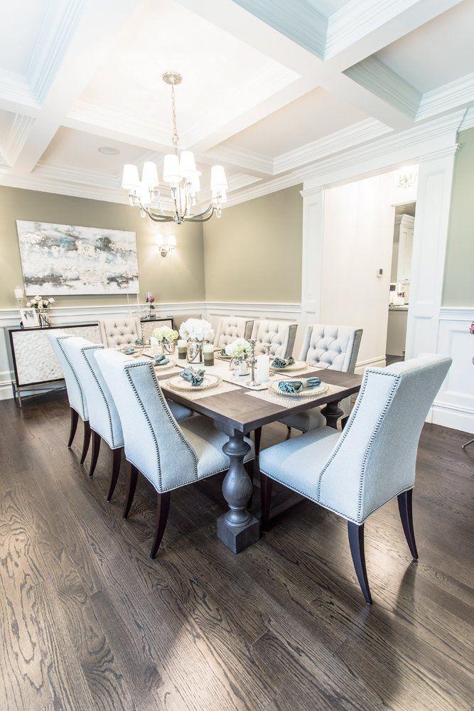 Ocean Blu Designs Interior Designers And Coastal House Ideas Manhasset Long Island Luxury Dining RoomDining