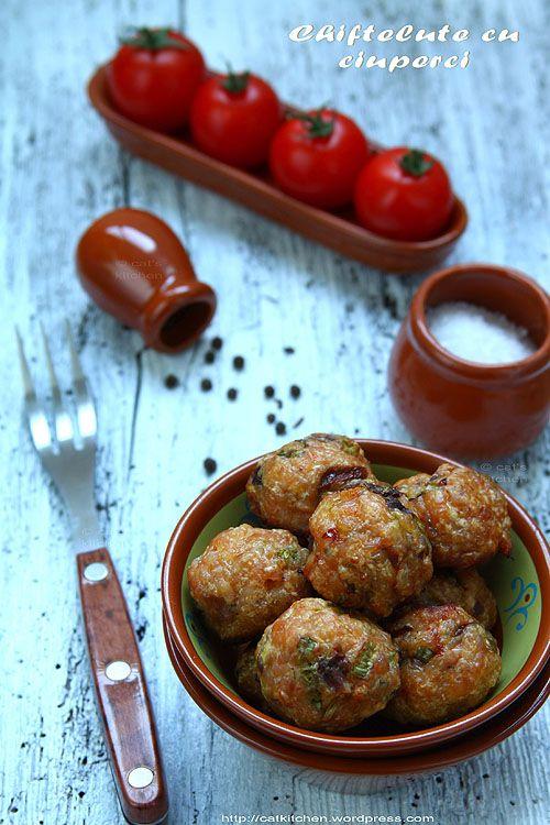 Chiftelute cu ciuperci