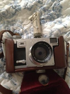Zeiss Ikon Contax IIa Camera w/ Leather Carrying Case Rosebery Inner Sydney Preview