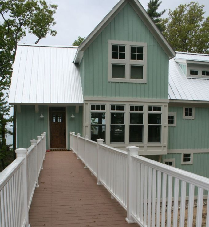 123 best images about board and batten cottages on for Board and batten homes