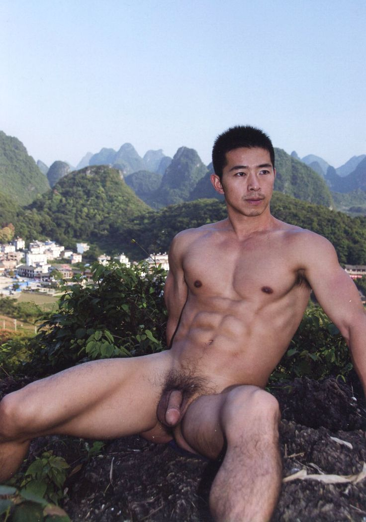 Sexy asian men nude