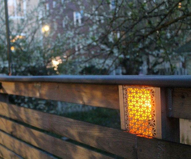 Beautiful Built In Low Voltage Fence Lighting
