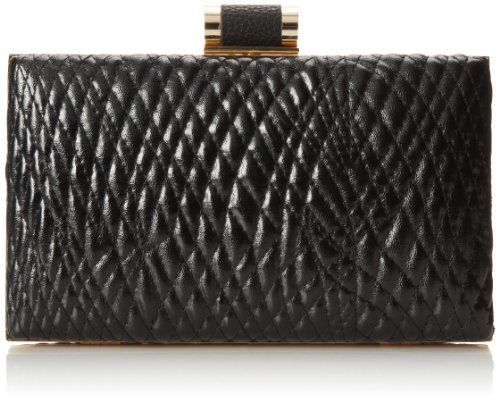 Ivanka Trump Ivanka Domed Minaudiere Clutch,Black,One Size - http://clutches-handbags-shoes.com/2014/03/ivanka-trump-ivanka-domed-minaudiere-clutchblackone-size/