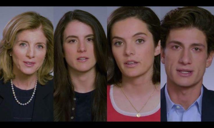 Caroline Kennedy, Tatiana Kennedy Schlossberg, Rose Kennedy Schlossberg and Jack Kennedy Schlossberg. (JFK Library and Museum)
