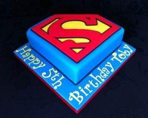 Superman Birthday Cake Idea