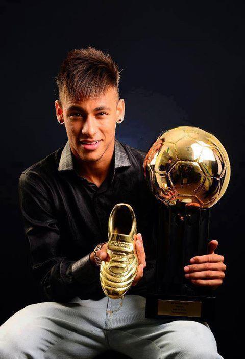 Balón y bota de oro. | Neymar Jr.