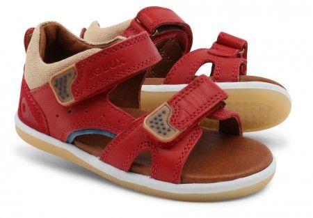 Bobux I-walk Wave Red Sandals - Bobux - Little Wanderers