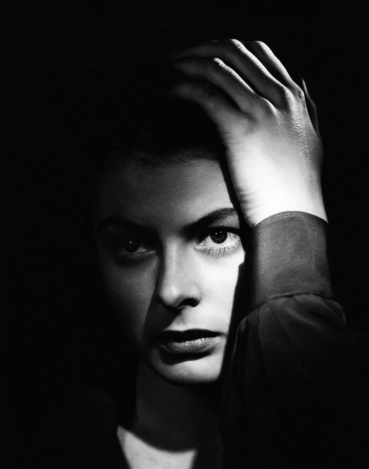 Production still from Alfred Hitchcock's Spellbound (1945): Ingrid Bergman as a psychiatrist (Photo: Madison Lacy)