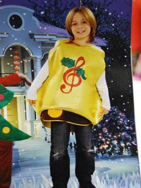 Disfraz campana para navidad m s en - Disfraces para navidad ...