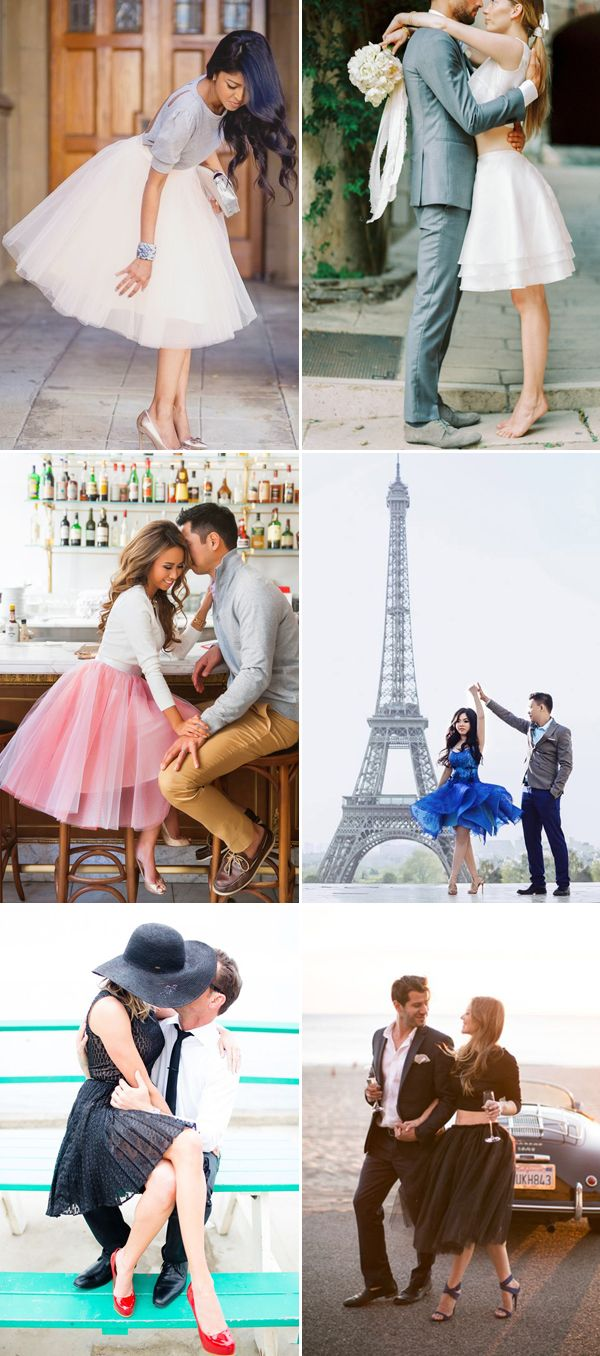 21 Sweet Engagement Outfit Ideas Featuring Short Dresses! City Look