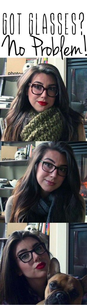 Makeup tips for girls with glasses!