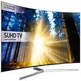 "Samsung UE65KS9000 Curved SUHD HDR 1,000 4K Ultra HD Quantum Dot Smart TV, 65"" with Freeview HD, Playstation Now & 360° Design, UHD Premium at John Lewis"