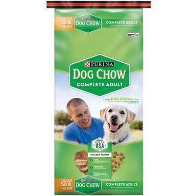 Purina Dog Chow Complete Dog Food Bonus Size 50 lb. Bag 1 Pack