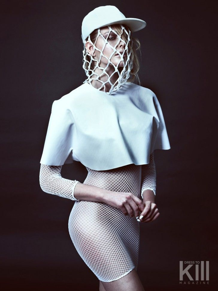 The Locker Room - a Dress to kill editorial by Greg Swales, styled by Amy Lu