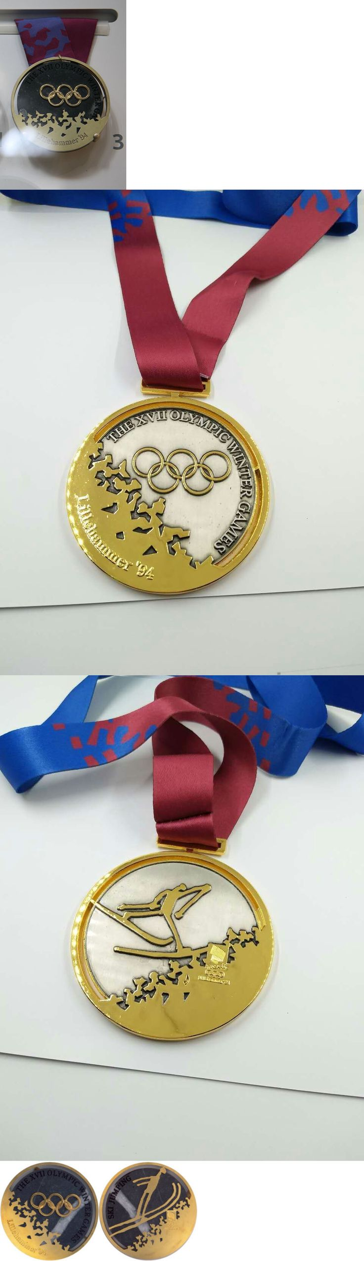 Olympics 27291: Lillehammer Norway 1994 Olympic Gold Medal With Ribbon! -> BUY IT NOW ONLY: $34.9 on eBay!
