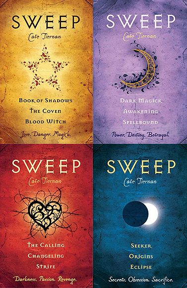 Sweep series by Cate Tiernan. Fifteen books in five volumes. Totally worth the time investment.