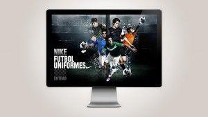 Sitio desarrollado para Nike Fútbol México. para customización de uniformes en linea para equipos amateur. http://nikefutbol.nobabel.com.mx