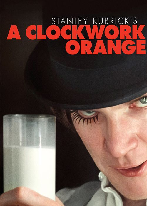 A Clockwork Orange...one of the most fucked up films I've ever seen..must watch it again sometime!!