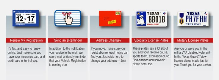 Texas Department of Motor Vehicles - Vehicle Title and Registration Services