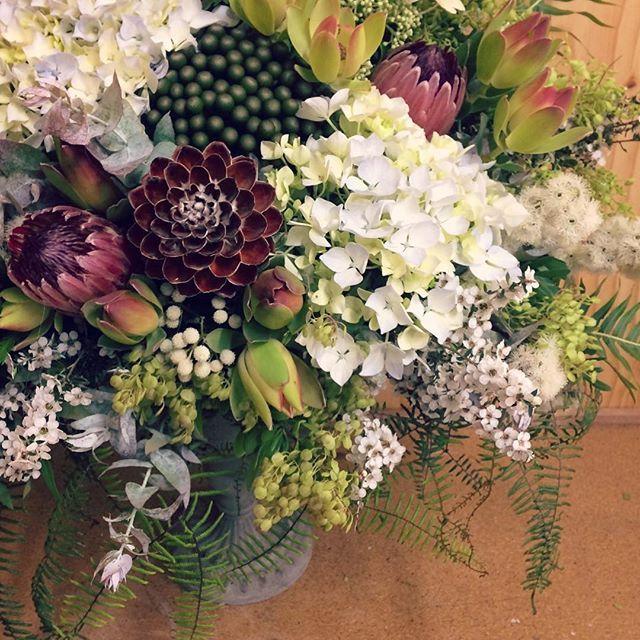 Sneak Peek Of Some Todays Wedding Flowers