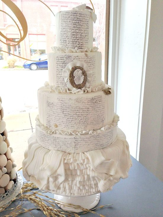 Wedding Cake By Le Patisserie Chouquette In St Louis MO