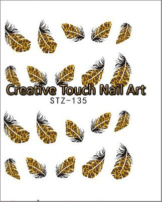 Buy NAIL ART - WATER TRANSFER - FEATHERfor R6.20