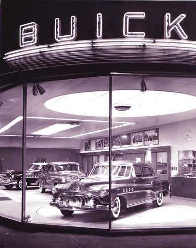 Buick Dealership, image inspiration http://manifestdestinyline.com/portfolio_page/tumbleweed/