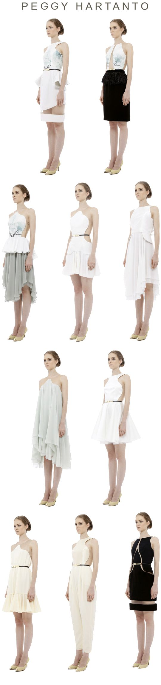 Peggy Hartanto Spring Summer 2013 Unseen Collection