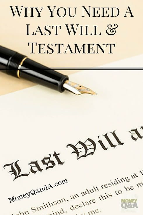 What is a last will and testament? It may not be one of the most pleasant things to talk about, but it can save your family a lot of needless heartaches. Here's why you need to have a will in your estate plan. via @HankColeman