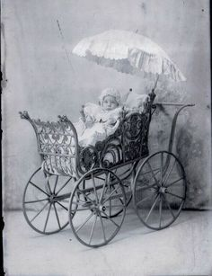 victorian baby cradle | Antique/Victorian Cradles, Carriages And Sleds