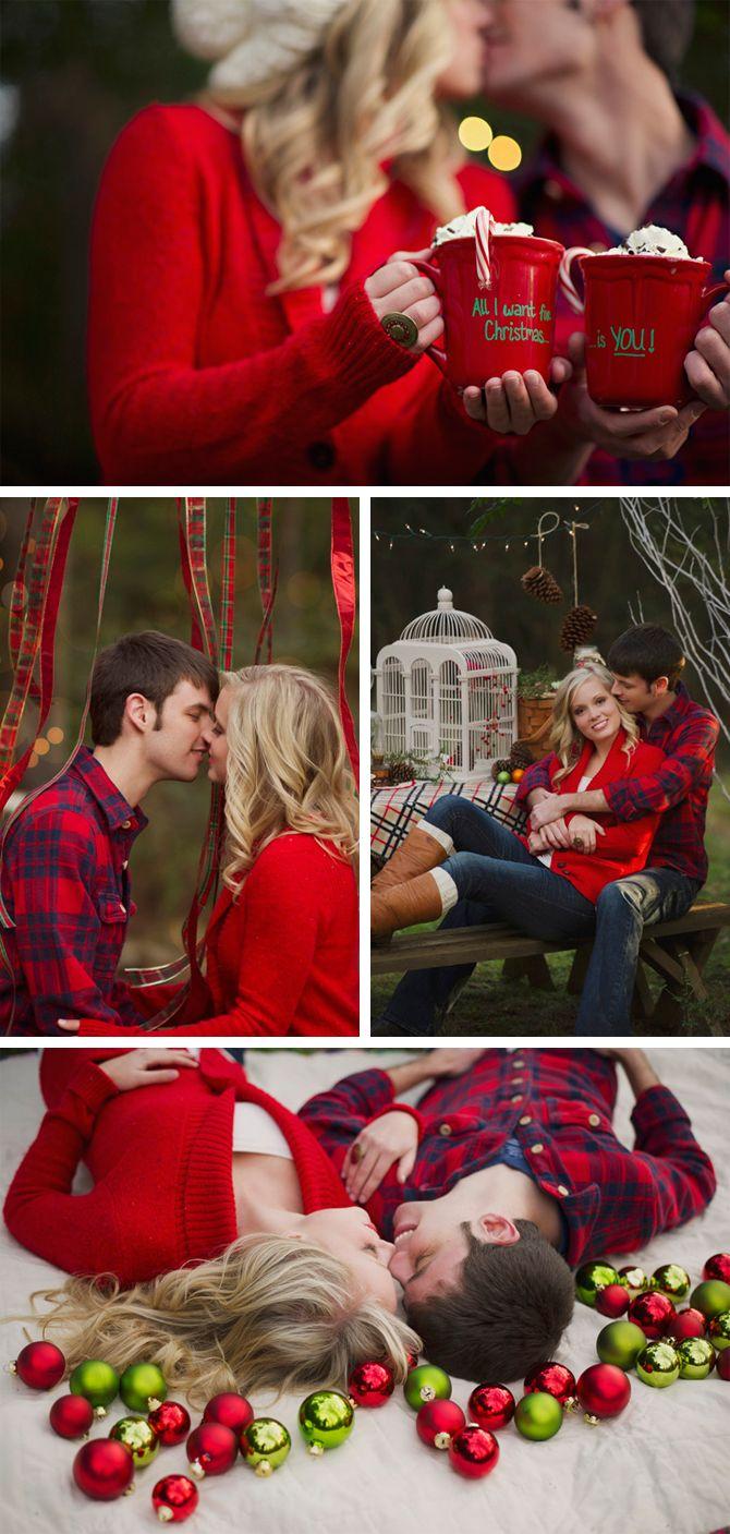 Christmas proposal   via Originální Svatba
