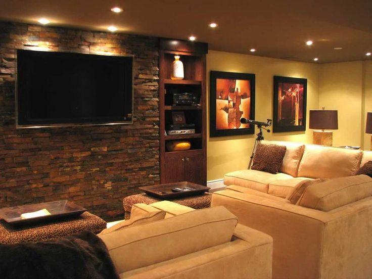 Small Tv Room Decorating Ideas. Elegant Tv In Corner Of Room Ideas .