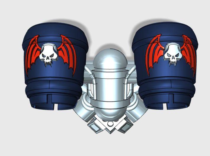 5x Nightmare Legion - Chordata Jetpack 3d printed