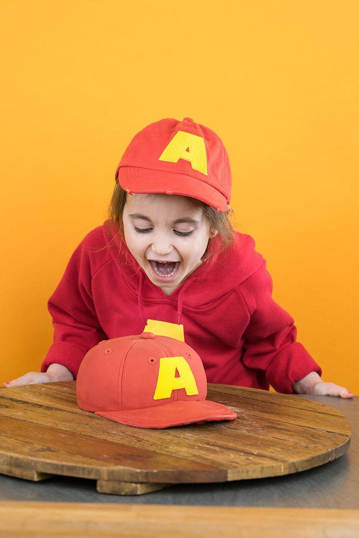 Alvin and the Chipmunks – Motivtorte mit Süßigkeitenfach