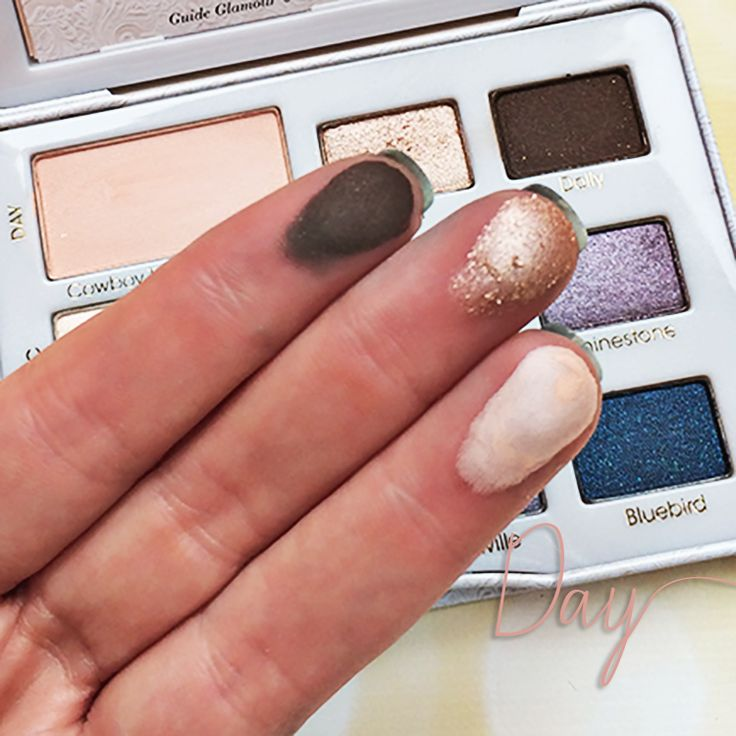 Too Faced Country Review + Swatches Day Look #swatches #makeup #beauty