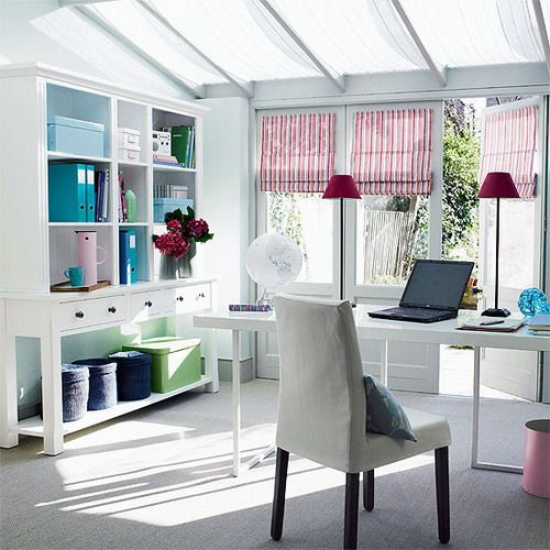 Shabby Chic Office Desk Ideas | Shabby Chic Interior Home Office Decoration  And Furnishing1 Awesome .