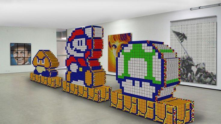 Rubik�s Cube Art by Cube Works Studio