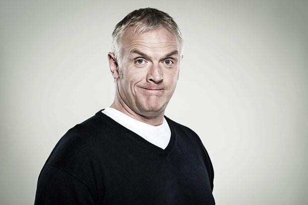 Greg Davies   Greg Davies on flotation tanks, Rik Mayall and ex-girlfriend Liz ...