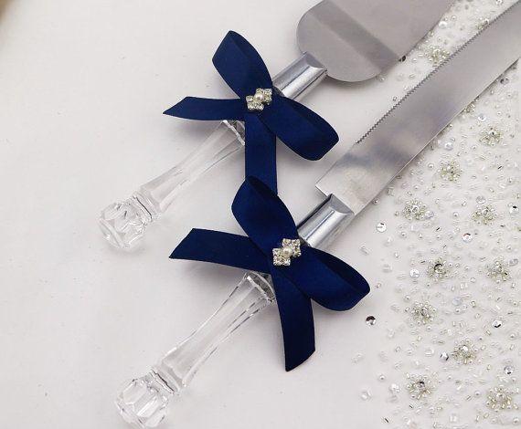 Your Color Wedding Cake Knife and Server by SparkledCelebration