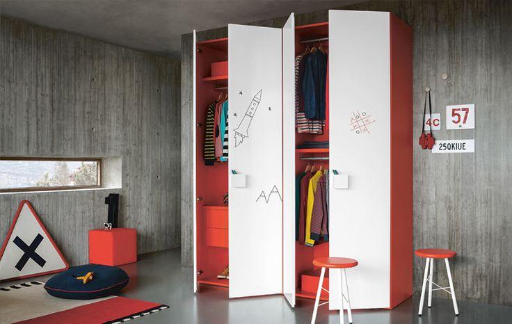 Children bedroom, furniture for children - Battistella