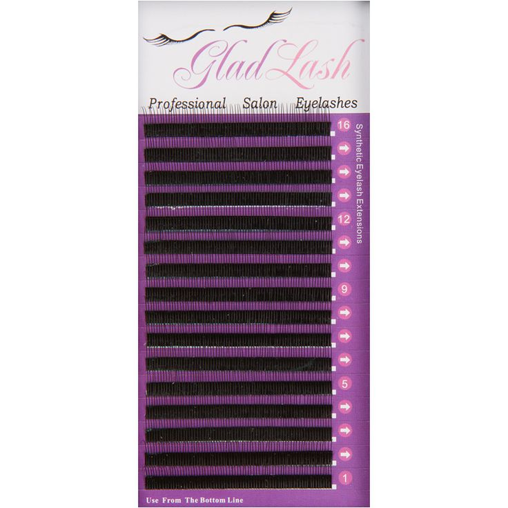 """Rapid Lash! Soft as silk but with a firm C Curl our """"Rapid Lash"""" eyelash extensions (also known as an R Lash) have a small space between each lash allowing for easy  removal from the tray. This small space minimizes the loss of any lashes when removing from a typical tray. With 16 movable rows, this is the ideal tray for the esthetician who likes to work fast. The new manufacturing method achieves a perfect C Curl for each and every lash.  http://www.eyelashextensions.com/rapid-lashes.html"""