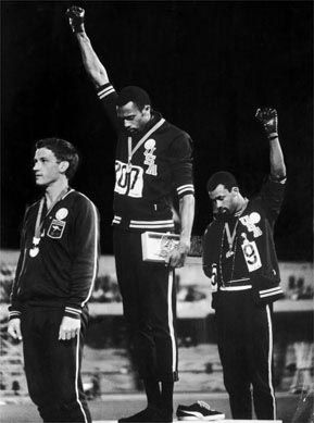 1968 #Olympics Black Power salute.