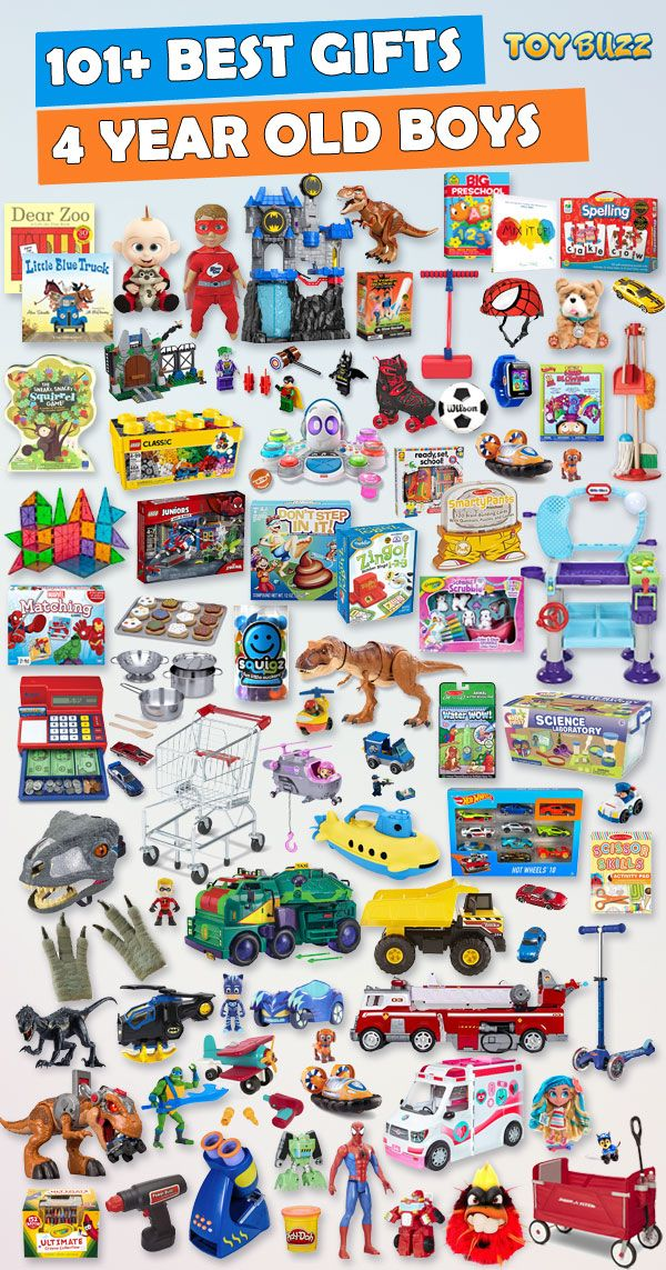 91f1a1cf9950 101+ Gifts for 4 year old boys or girls for birthdays