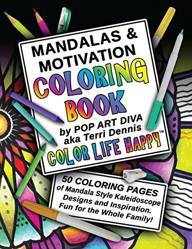 Need a fun Cocktail Party activity? How about Coloring for grown-ups?   MANDALAS & MOTIVATION Coloring Book: Color Yourself Calm, Inspired and Happy (COLOR LIFE HAPPY COLORING BOOKS) (Volume 1) by Pop Art Diva http://www.amazon.com/dp/1518843557/ref=cm_sw_r_pi_dp_3HDswb0Q7Y7WQ