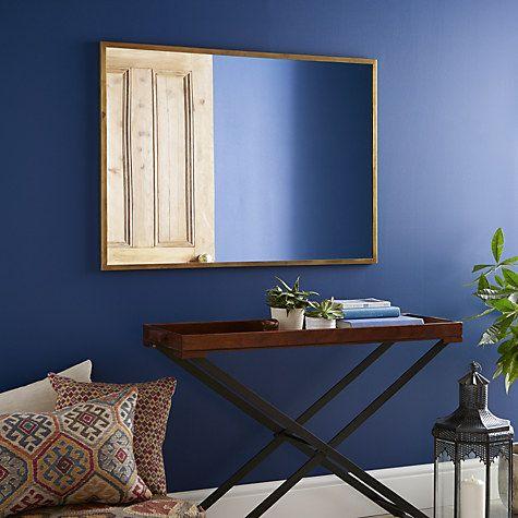 Antique Brass Edge Mirror | Shopping List