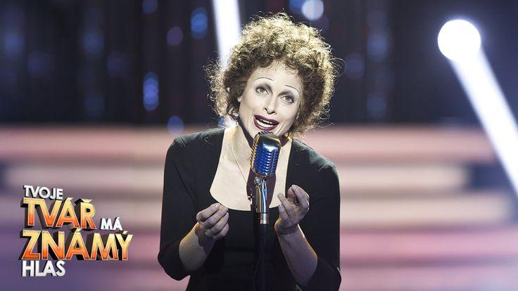 """Hana Holišová jako Edith Piaf – """"Non, je ne regrette rien""""   Tvoje tvář ..."""