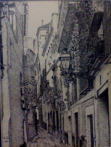 Calle Sierpes, Sevilla. España