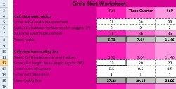 Freebie: Circle skirt measurement calculator | Sewing | CraftGossip.com